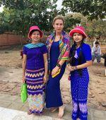 Девичник в Мьянме, февраль 2018