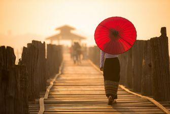 Девичник в Мьянме (Бирме). Страна тысячи пагод