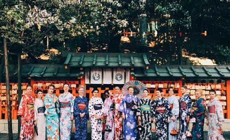Фотоотчет о девичнике в Японии, март 2018