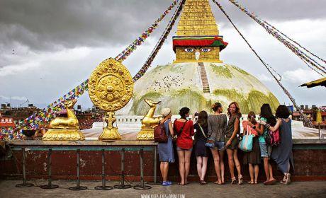 Первый девичник Girls in Travel на крыше мира: Непал. Начало