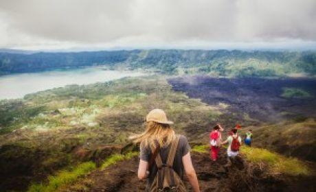 Восхождение на вулкан Батур и горячие источники, Бали