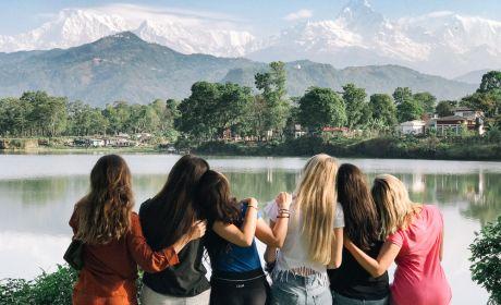 Фотоотчет о девичнике в Непале, весна 2018