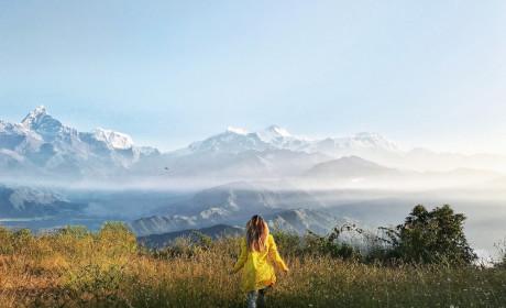 Фотоотчет о travel-девичниках в Непале, октябрь-ноябрь 2017