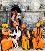 Девичник в Непале: апрель 2017