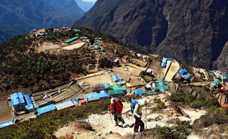 Отчет о треке к базовому лагерю Эвереста в мае 2014