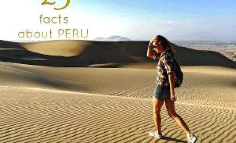 25 фактов о Перу