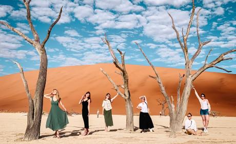 Фотоотчет о travel-девичнике в Намибии, май 2021