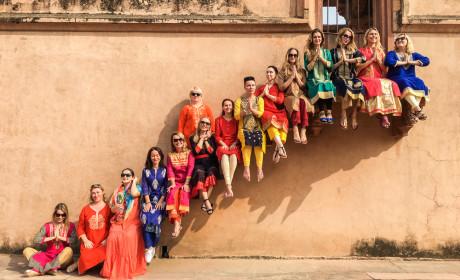 Фотоотчет о travel-девичнике в Индии, ноябрь 2017