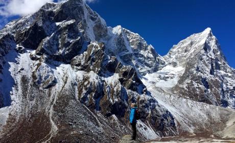 Трек к базовому лагерю Эвереста через озера Гокио