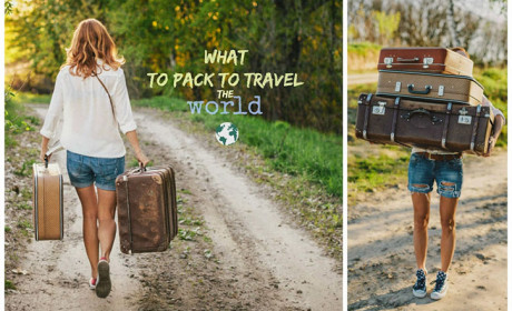 What to pack to travel the world…