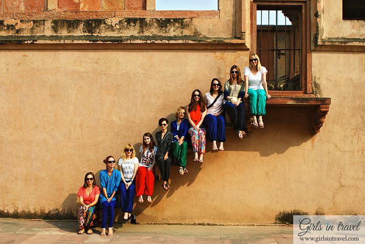 Фотоотчет о девичнике в Индии, ноябрь 2014