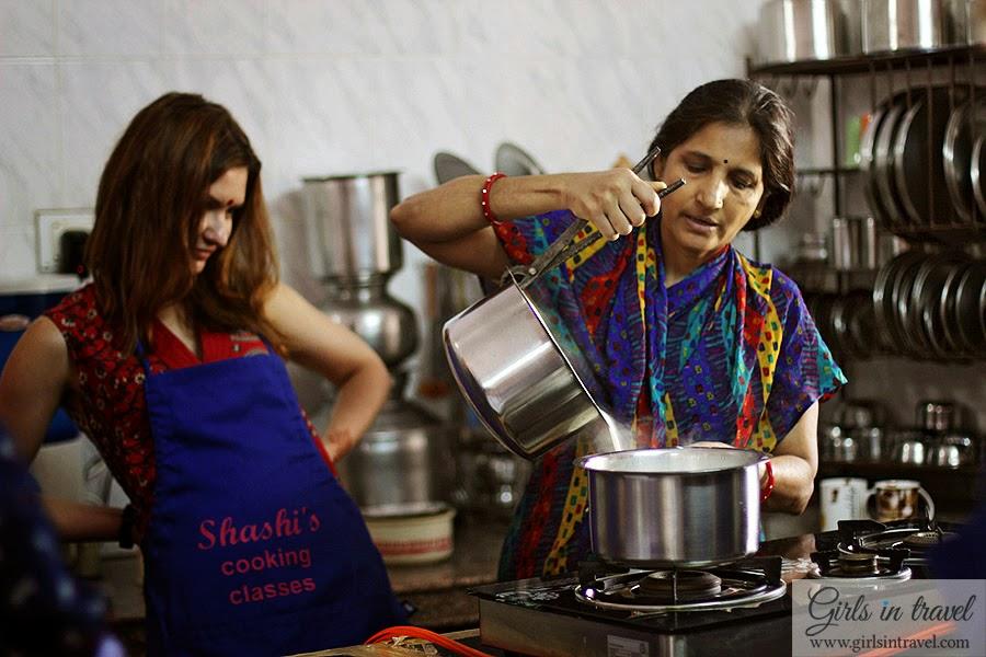 Готовка еды Индия