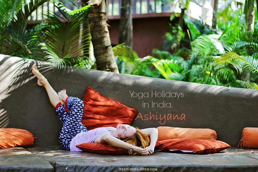 Yoga holiday in India