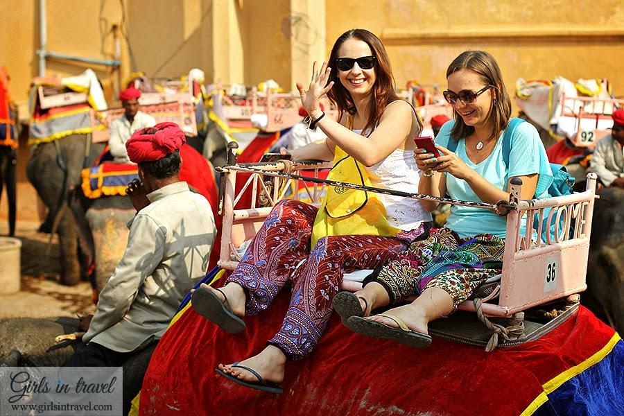 Верхом на Слоне в Индии