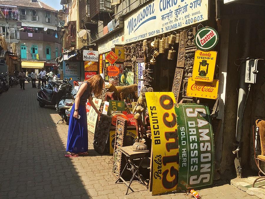 Барахолка в Индии
