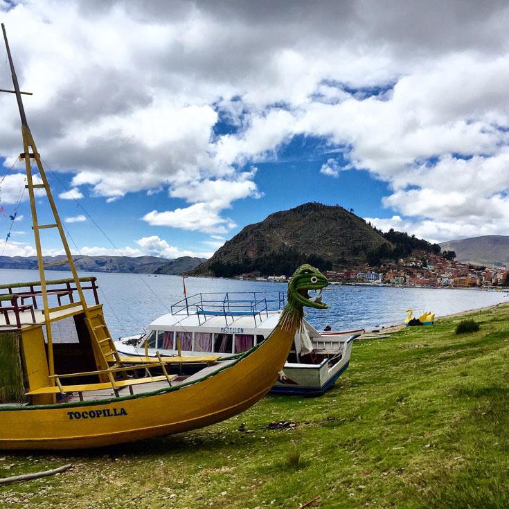 Боливия. Озеро Титикака