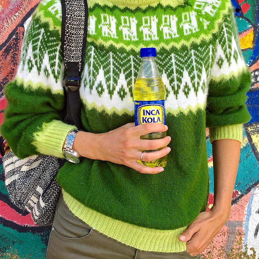 Инка Кола похожа на лимонад-дюшес