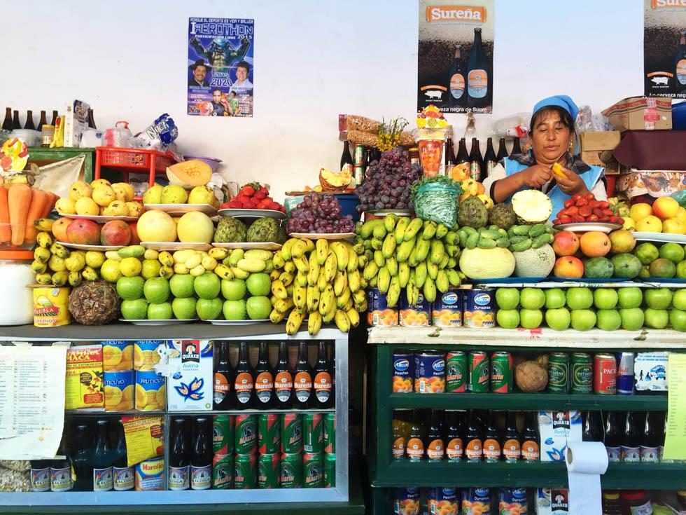 Боливия, рынок Ла-Паса