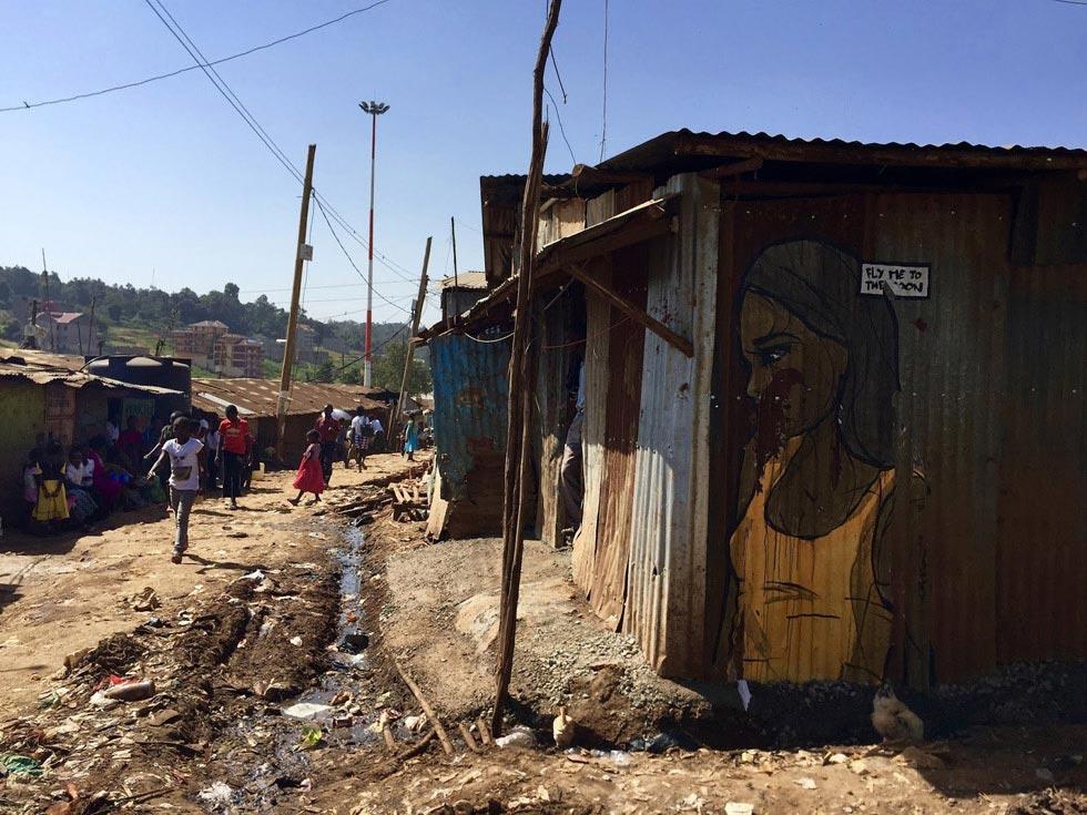 Кибера - город в городе